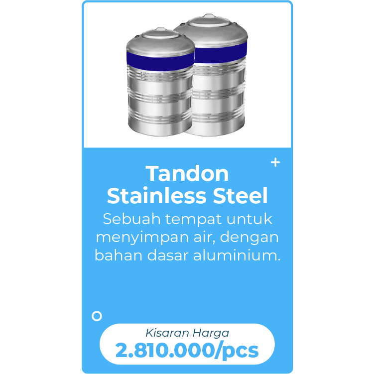 tandon stainless steel